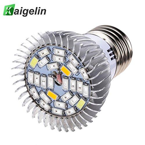 Yunt E27 LED Pflanzenlampe 5W LED Pflanzenleuchte Pflanzenlicht LED Grow Light Vollspektrum Pflanzenlicht Led Grow Lamp für Büro Haus Pflanzen Blumen 85V-265V